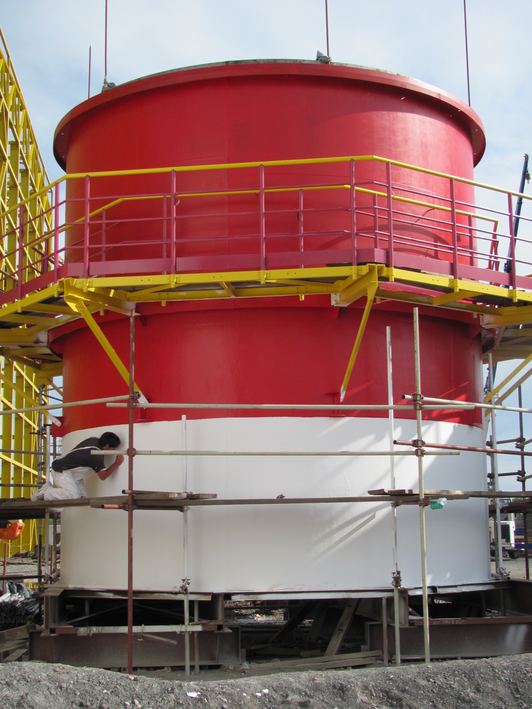 Kouřovody-tepelná elektrárna Sisak